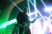 MASTODON - lead guitarist Brent Hinds - performing live at the Academy in Brixton London UK - 25 Jan 2019.  Photo credit: Zaine Lewis/IconicPix