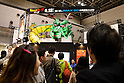 "Visitors gather at the Anime Japan 2015 on March 21, 2015 in Tokyo, Japan. Anime Japan 2015 brings together all aspects of the ""anime"" industry offering an opportunity for visitors get close to creators, voice actors, idol groups, and cosplayers, and to learn about the industry. This is the second year that the exhibition is being held at Tokyo Big Sight. Organizers estimated that approximately 100,000 visitors attended in 2014 and similar huge numbers are expected this year. The exhibition is open on March 21st and 22nd. (Photo by Rodrigo Reyes Marin/AFLO)"