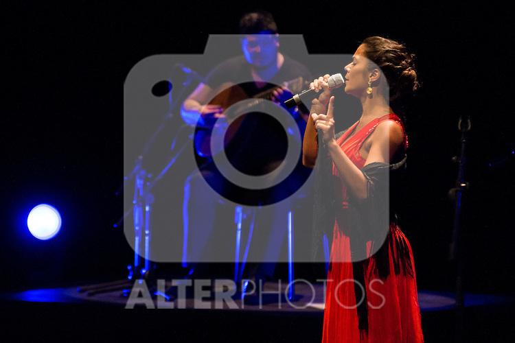 Singer Raquel Tavares during the V Mado Festival Madrid at Theatre Canal in Madrid, Spain. June 27, 2015.<br />  (ALTERPHOTOS/BorjaB.Hojas)