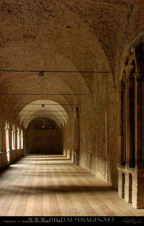 Cloister Santa Sabina Aventine Hill Rome