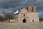 San Jose de Tumacacori church south of Tucson