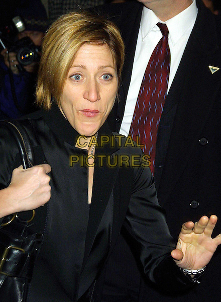 EDIE FALCO..The Hours Film Premiere in New York..funny, half length, half-length, hand..www.capitalpictures.com..sales@capitalpictures.com..©Capital Pictures