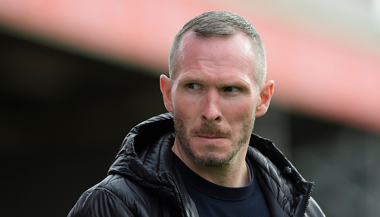 Lincoln City manager Michael Appleton<br /> <br /> Photographer Chris Vaughan/CameraSport<br /> <br /> The EFL Sky Bet League One - Lincoln City v Sunderland - Saturday 5th October 2019 - Sincil Bank - Lincoln<br /> <br /> World Copyright © 2019 CameraSport. All rights reserved. 43 Linden Ave. Countesthorpe. Leicester. England. LE8 5PG - Tel: +44 (0) 116 277 4147 - admin@camerasport.com - www.camerasport.com