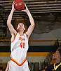Brendan McGuire #40 of Chaminade drives to the net for two points during the Nassau-Suffolk CHSAA varsity boys basketball semifinals against St. Anthony's at LIU Post on Sunday, Feb. 26, 2017. Chaminade won by a score of 66-50.