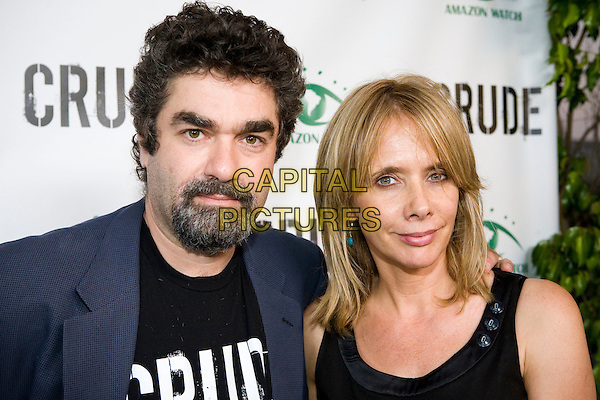 JOE BERLINGER, Director & ROSANNA ARQUETTE.'Crude' Los Angeles Screening  held the Harmony Gold Theater, Los Angeles, CA, USA..September 17th, 2009.headshot portrait black goatee facial hair .CAP/ADM/EV.©Erik Voake/AdMedia/Capital Pictures.