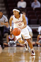 LOS ANGELES, CA - MARCH 12:  Melanie Murphy during Stanford's 72-52 win over Arizona in the Pac-10 Tournament at the Staples Center on March 12, 2010 in Los Angeles, California.