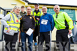 """Catriona Chester, Barry and Malachy Nagle, Michael Lynch, Pa Laide and Owen Moynihan at the Paul Lucey Memorial """"Run for the Rock"""" in the Austin Stack GAA Club on Monday morning."""