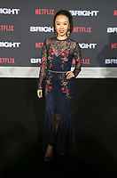 WESTWOOD, CA - DECEMBER 13: Ellen Wong, at Premiere Of Netflix's 'Bright' at The Regency Village Theatre, In Hollywood, California on December 13, 2017. Credit: Faye Sadou/MediaPunch /NortePhoto.com NORTEPHOTOMEXICO