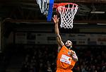 S&ouml;dert&auml;lje 2015-02-07 Basket Basketligan S&ouml;dert&auml;lje Kings - Bor&aring;s Basket :  <br /> Bor&aring;s Adama Darboe g&ouml;r po&auml;ng under matchen mellan S&ouml;dert&auml;lje Kings och Bor&aring;s Basket <br /> (Foto: Kenta J&ouml;nsson) Nyckelord:  S&ouml;dert&auml;lje Kings SBBK T&auml;ljehallen Bor&aring;s Basket