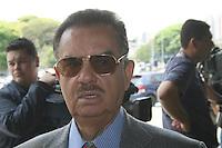 ATENÇÃO EDITOR: FOTO EMBARGADA PARA VEÍCULOS INTERNACIONAIS. – SÃO PAULO - SP – 05 DE NOVEMBRO 2012 –  JULGAMENTO DO CASO CORONEL UBIRATAN no Fórum Ministro Mário Guimarães  –  Dr Ademar Gomes, acompanha o julgamento. FOTO: MAURICIO CAMARGO / BRAZIL PHOTO PRESS.
