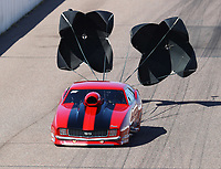 Feb 23, 2019; Chandler, AZ, USA; NHRA top sportsman driver Bud Preuss during qualifying for the Arizona Nationals at Wild Horse Pass Motorsports Park. Mandatory Credit: Mark J. Rebilas-USA TODAY Sports