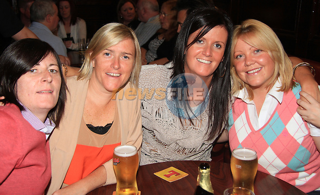 Miriam O' Brien, Lesley Walsh, Sharon Dunne and Jessica Lancaster in Darby O' Gills..Picture: Shane Maguire / www.newsfile.ie.