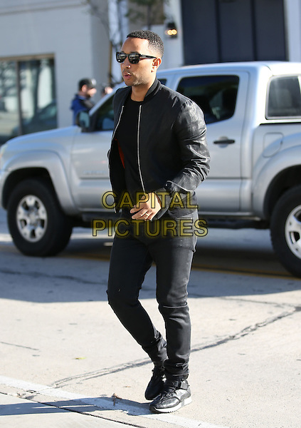 WEST HOLLYWOOD, CA - JANUARY 16: John Legend seen leaving Au Fudge restaurant in West Hollywood, California on January 16, 2017. <br /> CAP/MPI/JM<br /> &copy;JM/MPI/Capital Pictures