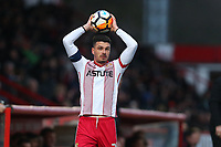 Ron Henry of Stevenage during Stevenage vs Reading, Emirates FA Cup Football at the Lamex Stadium on 6th January 2018