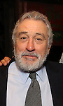 Robert De Niro during the Actors' Equity Gypsy Robe Ceremony honoring Jonathan Brody for  'A Bronx Tale'  at The Longacre on December 1, 2016 in New York City.