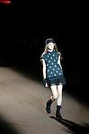 October 22nd, 2011: Tokyo, Japan – A model walks down the catwalk wearing mastermind JAPAN during Mercedes-Benz Fashion Week Tokyo 2012 Spring/Summer. The Mercedes-Benz Fashion Week Tokyo runs from October 16-22. (Photo by Yumeto Yamazaki/AFLO)