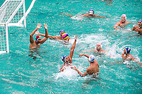 MNE - ITA<br /> MNE (white cap) vs ITA (blue cap)<br /> Rio de Janeiro  XXXI Olympic Games <br /> Olympic Aquatics Stadium <br /> waterpolo men preliminary round 10/08/2016<br /> Photo Giorgio Scala/Deepbluemedia/Insidefoto