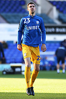 Preston North End's Paul Huntington during the pre-match warm-up <br /> <br /> Photographer David Shipman/CameraSport<br /> <br /> The EFL Sky Bet Championship - Ipswich Town v Preston North End - Saturday 3rd November 2018 - Portman Road - Ipswich<br /> <br /> World Copyright &copy; 2018 CameraSport. All rights reserved. 43 Linden Ave. Countesthorpe. Leicester. England. LE8 5PG - Tel: +44 (0) 116 277 4147 - admin@camerasport.com - www.camerasport.com