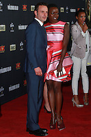 UNIVERSAL CITY, CA, USA - OCTOBER 02: Andrew Lincoln, Danai gurira arrive at the Los Angeles Premiere Of AMC's 'The Walking Dead' Season 5 held at AMC Universal City Walk on October 2, 2014 in Universal City, California, United States. (Photo by David Acosta/Celebrity Monitor)