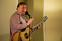 Comedian, Steve Gribbin, at the Sitting Room Comedy Club, Harrogate.