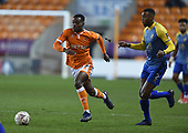 18/12/18 The Emirates FA Cup, 2nd Round Replay Blackpool v Solihull Moor<br /> <br /> Marc Bola attack