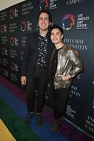 LOS ANGELES, CA -APRIL 7: Casey Breves, Sam Tsui, at Grand Opening Of The Los Angeles LGBT Center's Anita May Rosenstein Campus at Anita May Rosenstein Campus in Los Angeles, California on April 7, 2019.<br /> CAP/MPIFS<br /> &copy;MPIFS/Capital Pictures