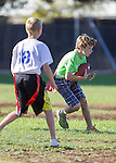 Loyola A at Almond A Flag Football, After School Athletics, October 24, 2012