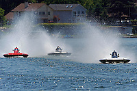13-14 June, 2009, APBA Inboards, Walled Lake, Novi, MI. USA.S-17, 2.5 Litre Stock hydroplane, Christina Wilson, S-20, 2.5 Litre Stock hydroplane.©F. Peirce Williams 2009 USA.F.Peirce Williams.photography.ref: RAW (.NEF) File Available
