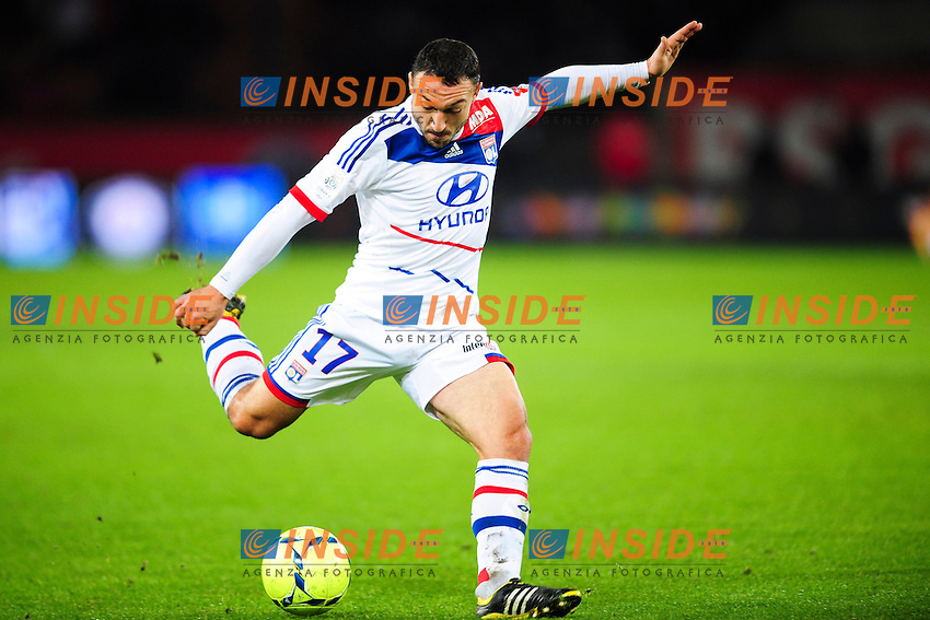 Steed Malbranque (OL) .Football Calcio 2012/2013.Ligue 1 Francia.Foto Panoramic / Insidefoto .ITALY ONLY