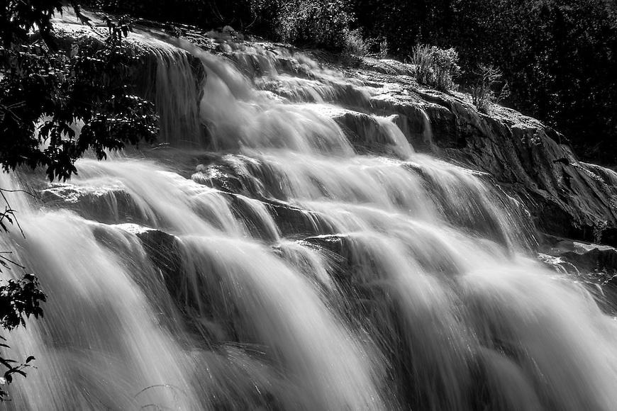 Bond Falls on the Ontonagon River near Paulding in the UP of Michigan