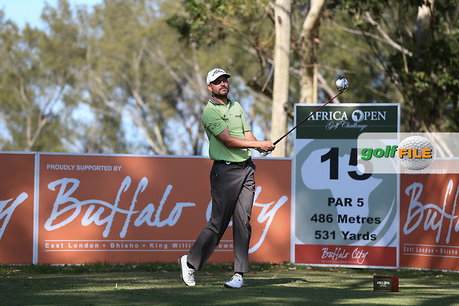 David Howell (ENG) drives from the 15th during Round One of the Africa Open 2015 at the East London Golf Club, East London, Eastern Cape, South Africa. Picture:  David Lloyd / www.golffile.ie. 05/03/2015