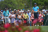 Henrik Stenson (SWE) lines up his tee shot on 3 during round 1 of The Players Championship, TPC Sawgrass, at Ponte Vedra, Florida, USA. 5/10/2018.<br /> Picture: Golffile | Ken Murray<br /> <br /> <br /> All photo usage must carry mandatory copyright credit (&copy; Golffile | Ken Murray)