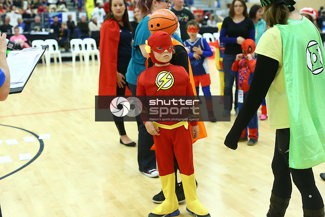 NELSON, NEW ZEALAND - JUNE 21: NBL Basketball Mike Pero Nelson Giants v Southland Sharks on June 21th, 2015 in Nelson, New Zealand. (Photo by: Evan Barnes Shuttersport Limited)