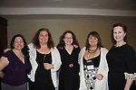Authors Sylvia Day, HelenKay Dimon, Lauren Dane, Ann Aguirre, Megan Hall - Fabulous 40s at Romantic Times Booklovers Annual Convention 2011 - The Book Industry Event of the Year - April 6th to April 10th at the Westin Bonaventure, Los Angeles, California for readers, authors, booksellers, publishers, editors, agents and tomorrow's novelists - the aspiring writers. (Photo by Sue Coflin/Max Photos)