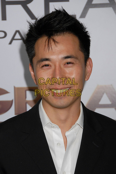 """JAMES KYSON LEE.""""The Great Debaters"""" Los Angeles Premiere at the Arclight Cinerama Dome, Hollywood, California, USA..December 11th, 2007.headshot portrait .CAP/ADM/BP.©Byron Purvis/AdMedia/Capital Pictures."""
