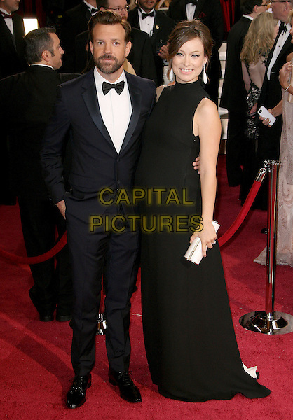 02 March 2014 - Hollywood, California - Jason Sudeikis, Olivia Wilde. 86th Annual Academy Awards held at the Dolby Theatre at Hollywood &amp; Highland Center. <br /> CAP/ADM/RE<br /> &copy;Russ Elliot/AdMedia/Capital Pictures