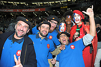 France fans during the Steinlager Series international rugby match between teh New Zealand All Blacks and France at Eden Park in Auckland, New Zealand on Saturday, 9 June 2018. Photo: Dave Lintott / lintottphoto.co.nz