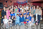Double Celebrations - Kate Dowling, Ardfert & Catherine Collins, Kilmoyley, seated centre having a ball with family and friends at their 21st birthday bash held in McElligot's Bar, Ardfert on Friday night.. ............   Copyright Kerry's Eye 2008