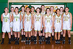 September 30, 2013- Tuscola, IL- The 2013 7th Grade Girls Hornet Basketball team. Alternating from left are Natalie Bates, Sidney Watson, Grace Dietrich, Lexi Russo, Caroline Rominger, Faith Hardwick, Claire Ring, Allison Clark, Gabby Gunther, Ashton Smith, Katie Smith, Jackie Watson, and Anna Spillman.  [Photo: Douglas Cottle]