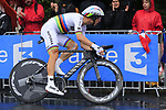 World Champion Tony Martin (GER) Team Katusha Alpecin in action during Stage 1, a 14km individual time trial around Dusseldorf, of the 104th edition of the Tour de France 2017, Dusseldorf, Germany. 1st July 2017.<br /> Picture: Eoin Clarke | Cyclefile<br /> <br /> <br /> All photos usage must carry mandatory copyright credit (&copy; Cyclefile | Eoin Clarke)