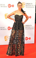 guest at the Virgin TV British Academy (BAFTA) Television Awards 2018, Royal Festival Hall, Belvedere Road, London, England, UK, on Sunday 13 May 2018.<br /> CAP/CAN<br /> &copy;CAN/Capital Pictures