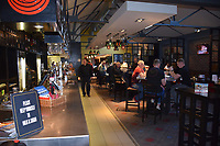 Interior of Wetherspoons pub, The Henry Bell, Helensborough, near Glasgow. John Logie Baird was born in Helensburgh and Hill House nearby is an iconic Charles and Margaret Macdonald Mackintosh building. Scotland