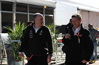 2nd November 2019; Circuit of the Americas, Austin, Texas, United States of America; Formula 1 United Sates Grand Prix, qualifying day; James Allison, Technical Director of Mercedes AMG Petronas Motorsport - Editorial Use