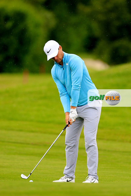 Lucas Bjerregaard (DEN) during the ProAm ahead of the Lyoness Open powered by Organic+ played at Diamond Country Club, Atzenbrugg, Austria. 8-11 June 2017 April.<br /> 07/06/2017.<br /> Picture: Golffile | Phil Inglis<br /> <br /> <br /> All photo usage must carry mandatory copyright credit (&copy; Golffile | Phil Inglis)
