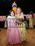 Sadie Shelley and Maizie Overton at the Princess Ball in the Barbican.<br /> <br /> Photo - Jenny Matthews