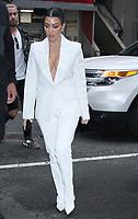 FEB 07 Kourtney Kardashian seen arriving at NBC's Today Show