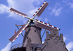 Europe, DEU, Germany, Northrhine Westphalia, Lower Rhine, Kalkar, Windmill, Lohwindmuehle, Mill at the Hanselaer Tor....[ For each utilisation of my images my General Terms and Conditions are mandatory. Usage only against use message and proof. Download of my General Terms and Conditions under http://www.image-box.com or ask for sending. A clearance before usage is necessary...Material is subject to royalties. Each utilisation of my images is subject to a fee in accordance to the present valid MFM-List...Contact | archive@image-box.com | www.image-box.com ]
