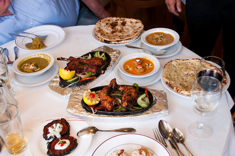 Berkeley, California: Ajanta Indian Restaurant. Photo copyright Lee Foster.  Photo # california123455