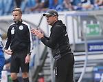 Trainer Urs Fischer (1.FC Union Berlin)<br /> <br /> Sport: Fussball: Bundesliga: Saison 19/20: TSG 1899 Hoffenheim-1.FC Union Berlin, 20.06.2020.<br /> <br /> Foto: RALF POLLER/AVANTI/POOL/PIX-Sportfotos<br /> <br /> Nur für journalistische Zwecke! Only for editorial use! <br /> Gemäß den Vorgaben der DFL Deutsche Fußball Liga ist es untersagt, in dem Stadion und/oder vom Spiel angefertigte Fotoaufnahmen in Form von Sequenzbildern und/oder videoähnlichen Fotostrecken zu verwerten bzw. verwerten zu lassen. DFL regulations prohibit any use of photographs as image sequences and/or quasi-video.