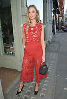 Charli Fisher at the ELA London spring/summer 19 collection launch party, ELA, Brompton Road, London, England, UK, on Tuesday 14th May 2019.<br /> CAP/CAN<br /> ©CAN/Capital Pictures